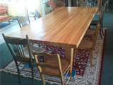 &quot;Thought you might be interested in the table that you made the top for - 2.8m x 1.3m. Your timber also for the legs and frame. Looks great.&quot;<br>- Kirk Williams
