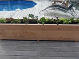 Assembled Patio Planter